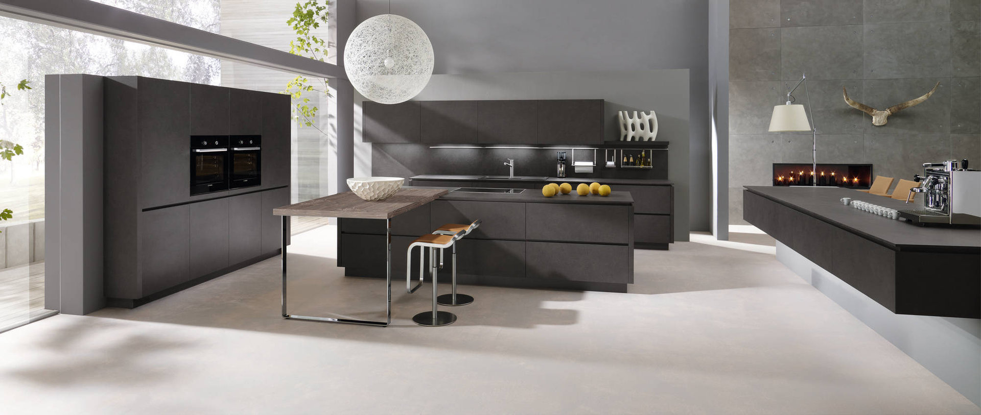 moderne k chen von alno die kleine k chenstube. Black Bedroom Furniture Sets. Home Design Ideas